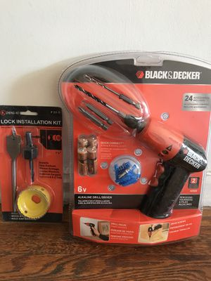 Black and Decker drilling system for Sale in Cleveland, OH