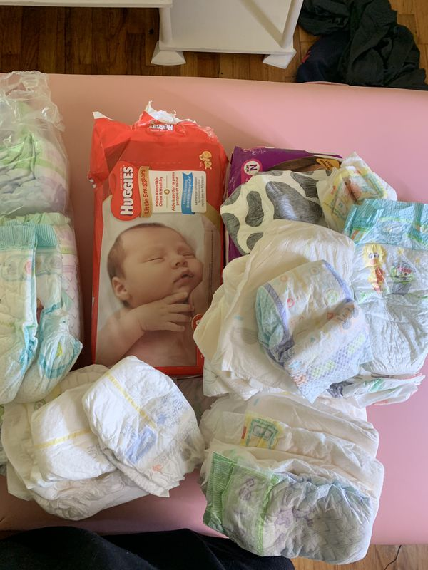 Assorted Sizes from Newborn to Size 3