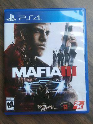 Mafia 3 for ps4 for Sale in Livermore, CA