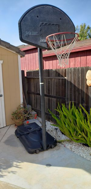 Basketball hoop and base for Sale in Fairfield, CA