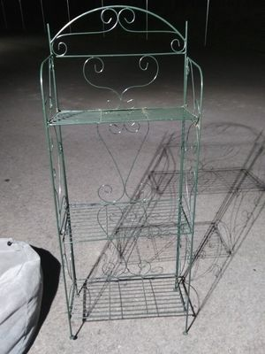 3 Tier metal shelves for Sale in Pleasant View, TN