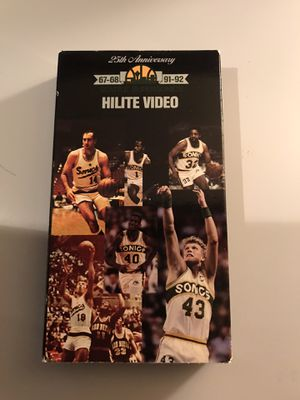 Seattle SuperSonics Sonics 25th Anniversary Hilite Video VHS for Sale in Auburn, WA