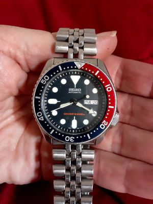 Seiko SKX007 Divers Watch Men Vintage Automatic Day Date ref. 7S26-0020 for Sale in South San Francisco, CA