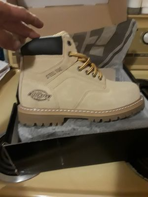 Brand new Dickies men's work boots Size 9 for Sale in DeLand, FL