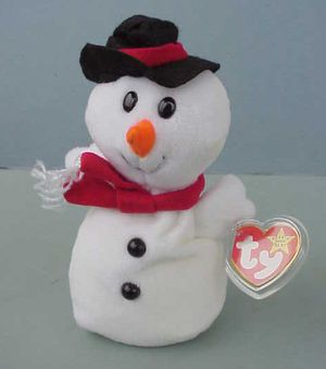 RARE Ty Beanie Baby Snowman SNOWBALL for Sale in Warwick, RI