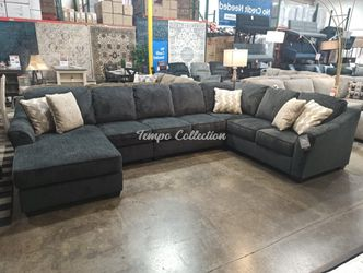 New Sectional Sofa, Slate, SKU# ASH41403LAF-3TC for Sale in Santa Fe Springs,  CA