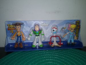 Toy story 4 figures set for Sale in Downey, CA