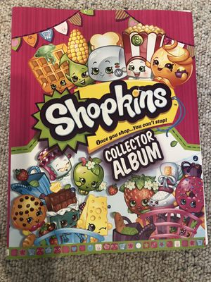 Shopkins Collector Album with tons of cards for Sale in Boston, MA