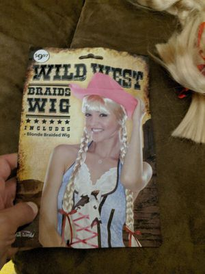 Wild West blond wig Halloween for Sale in Los Angeles, CA