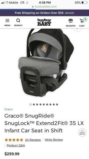 Graco SnugRide SnugLock 35LX Infant Car seat for Sale in Rockville, MD