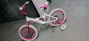 Make me an offer price negotiable. Hello kitty 16inches toddler bike for Sale in North Miami Beach, FL