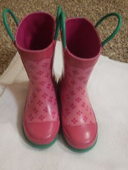 Rain Boots. Hello Kitty. Pink. Girls. for Sale in Puyallup,  WA