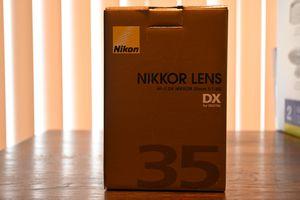 Nikon Nikkor AF-S 35mm 1.8 for Sale in Glendale, AZ