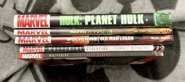 Marvel HC Graphic Novel bundle