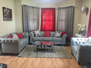 New set of classic sofa ( already disassembled easy to pick up) for Sale in Greenville, SC