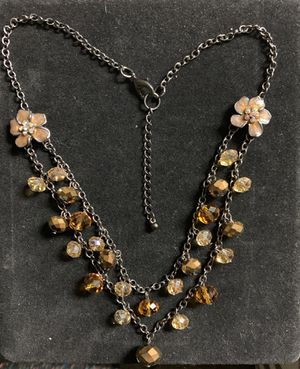 Double Layer Fashion Necklace for Sale in Quincy, IL
