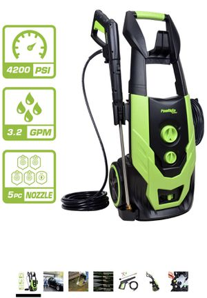 Electric Power Washer with 5 Quick-Connect Spray Tips for Sale in Weldon Spring, MO