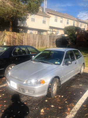 Honda Civic Hatch (EG) for Sale in Silver Spring, MD