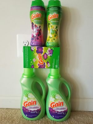 Gain laundry dryer sheets, fireworks and softener bundle for Sale in Rockville, MD
