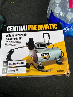 Airbrush air compressor new in box for Sale in Pasadena, TX