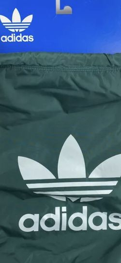 Adidas Unisex Original Trefoil Gym/Travel Sackpack One Size Green White for Sale in Peoria,  IL