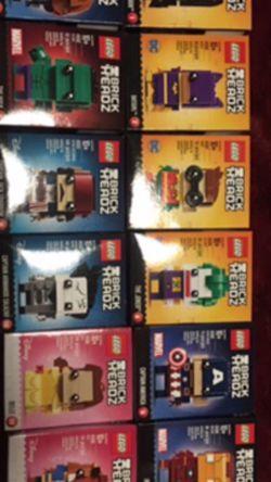 Lego Brick Headz. Singles for Sale in Vancouver,  WA