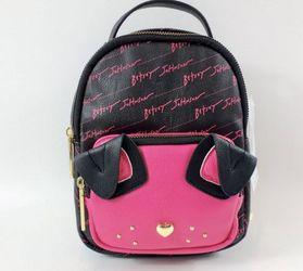Betsey Johnson Dog Pink Mini Backpack for Sale in Calumet City,  IL