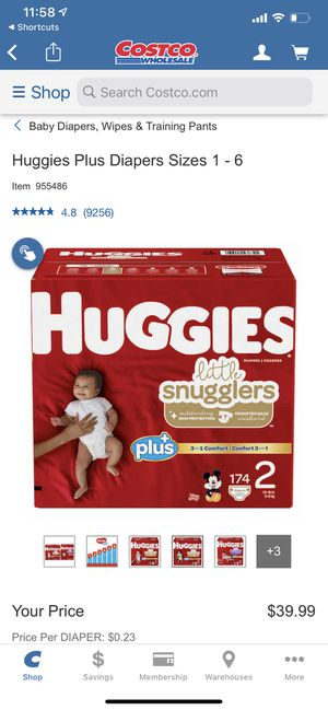 Huggies Diapers Size 2 for Sale in Imperial Beach, CA