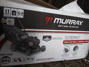 Murray mp21500 push LAWN mower like new for Sale in Union City, PA
