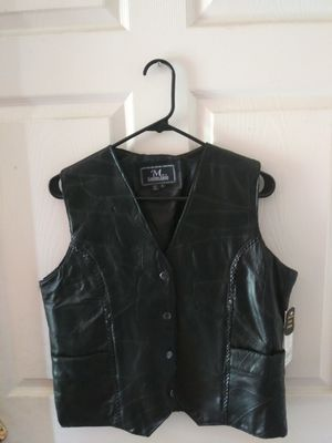 """Leather """"Motorcycle"""" Vest for Sale in Houston, TX"""
