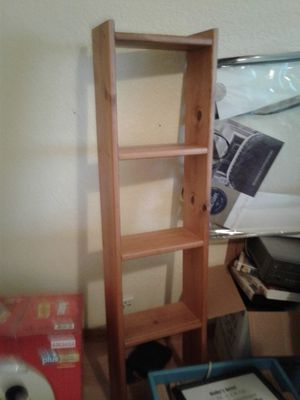 Wooden shelf ladder for Sale in Hesperia, CA