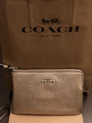Coach wristlets brand new $25 each or $65 for all 3 for Sale in Baldwin Park, CA