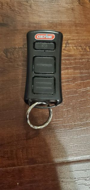Genie Garage Door Opener Keychain with light for Sale in Montclair, CA