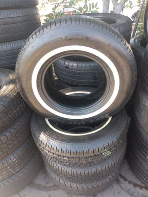 Set tires 235/75/R15. Radial Sonic Spectrum for Sale in South Gate, CA