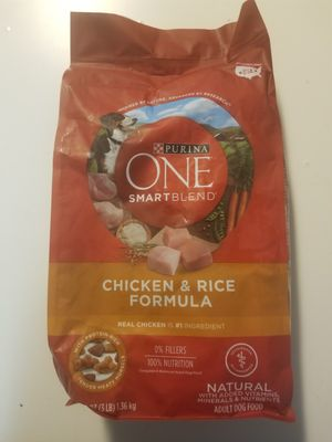 Purina One Smart Blend 3 Pounds Chicken Rice Formula Dog Pet Food for Sale in Queens, NY