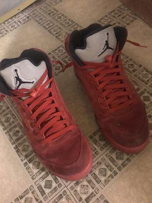 Jordan retro 5 Red suedes for Sale in Philadelphia, PA
