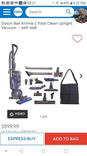 Dyson dc50 pet vac for Sale in Akron, OH