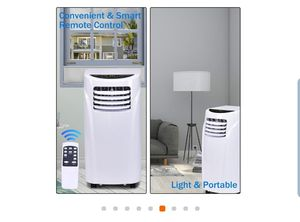 Air Conditioner and Dehumidifier Function Remote in White with Window Kit for Sale in South El Monte, CA