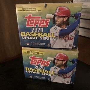 Topps Update Baseball Blaster Boxes for Sale in Portland, OR