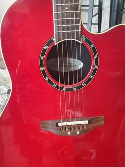 Ovation, Acoustic Electric Guitar. Model Number. 2771AX-CCB. for Sale in Sacramento,  CA