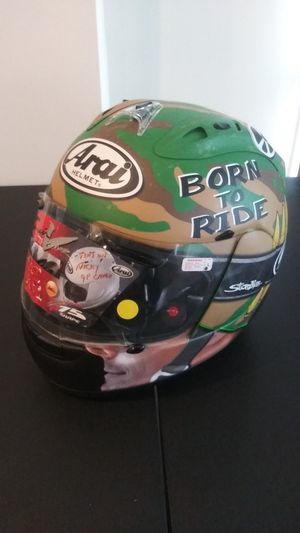 Nicky Haden Motorcycle Helmet for Sale in Frederick, MD
