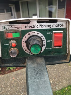 Outboard electric fishing motor trolling for Sale in Seattle, WA