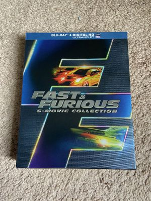 Fast & Furious 6-Movie Collection (blu-rays) for Sale in Winter Garden, FL