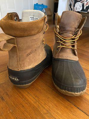 Sorel Waterproof Duck Boot - Men's Size 10 for Sale in Boston, MA