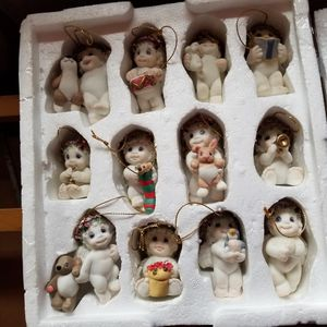 Precious Moments set of 12 Chtistmas Ornaments for Sale in Vancouver, WA
