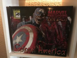 MARVEL ZOMBIES SDCC EXCLUSIVE COLONEL CAPTAIN AMERICA for Sale in Tacoma, WA