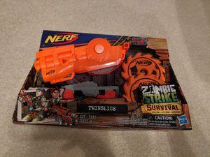 Nerf zombie strike survival - twinslice for Sale in Marietta, GA