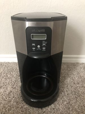 Mr Coffee 12 Cup Coffee Maker for Sale in San Antonio, TX