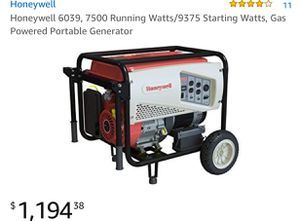 Honeywell Generator like new for Sale in Prineville, OR