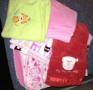 5 baby blankets for Sale in Fontana, CA